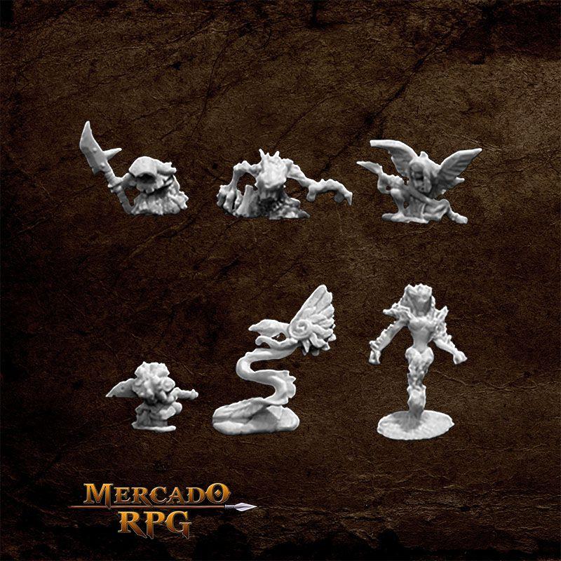 Familiars A - Miniatura RPG