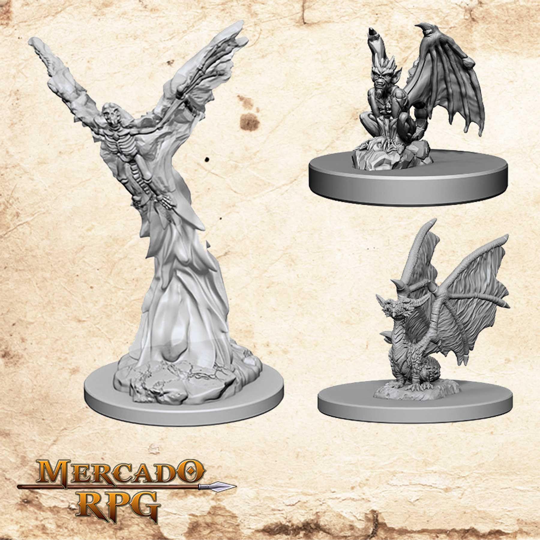 Familiars Winged - Miniatura RPG  - Mercado RPG