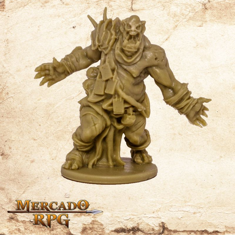 Fatty Orc Zombie A - Miniatura RPG
