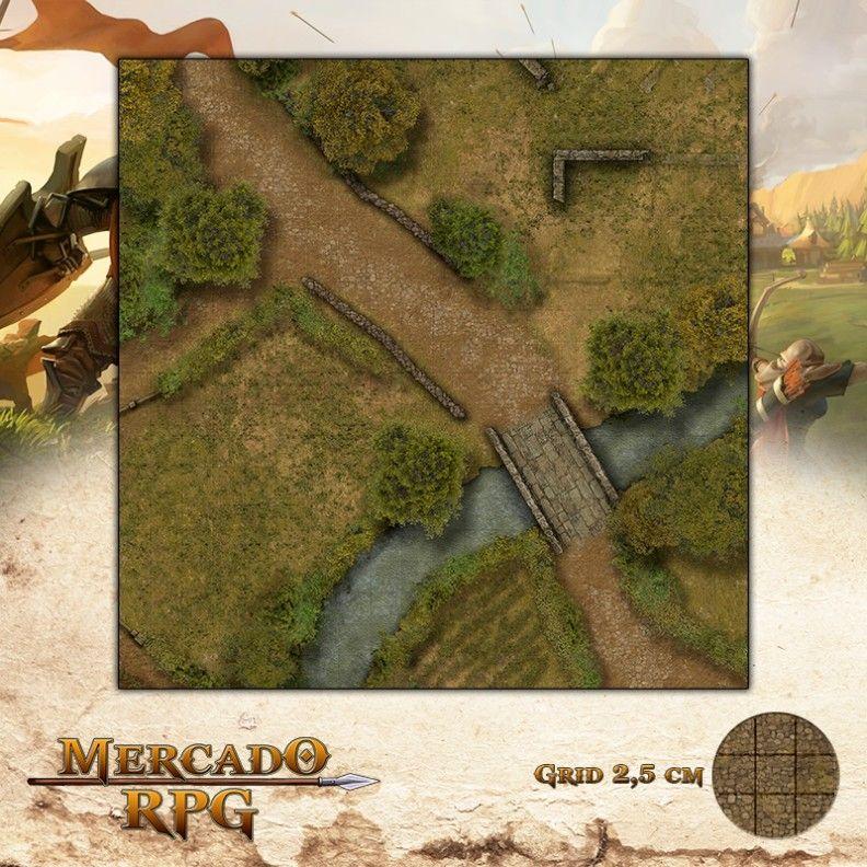 Fazenda Norte 50x50 - RPG Battle Grid D&D