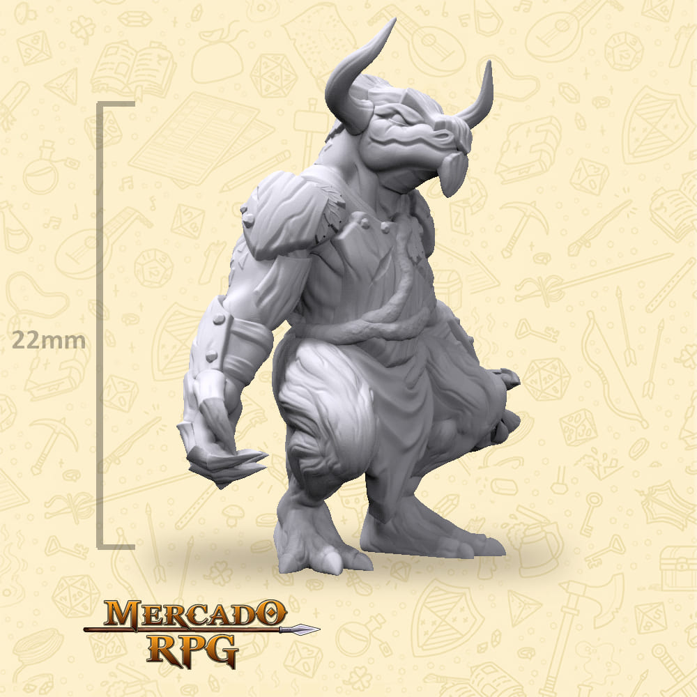 Feydhok Horn - Miniatura - RPG