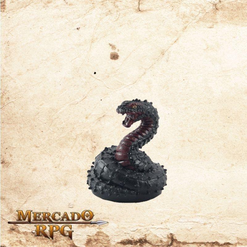 Fiendish Snake - Com carta  - Mercado RPG