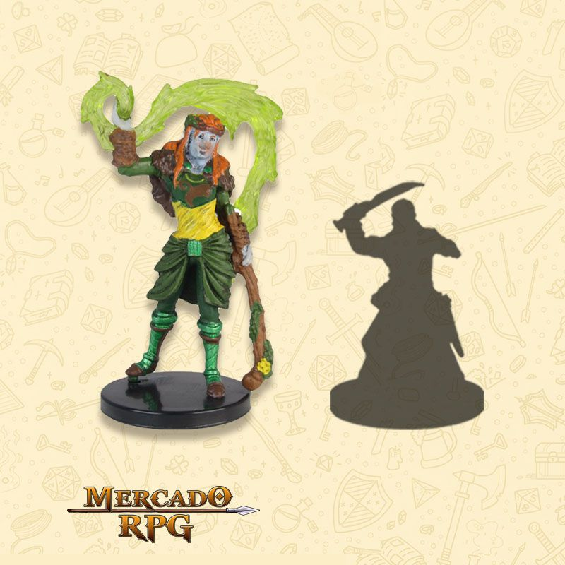 Firbolg Druid - Miniatura RPG  - Mercado RPG