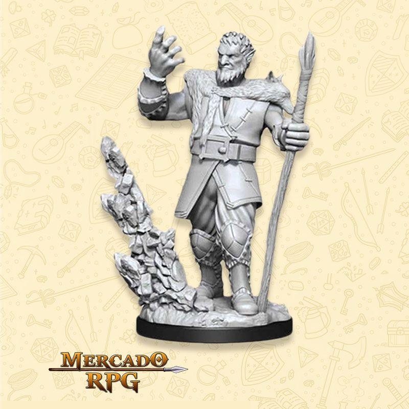 Firbolg Male Druid A - Miniatura RPG