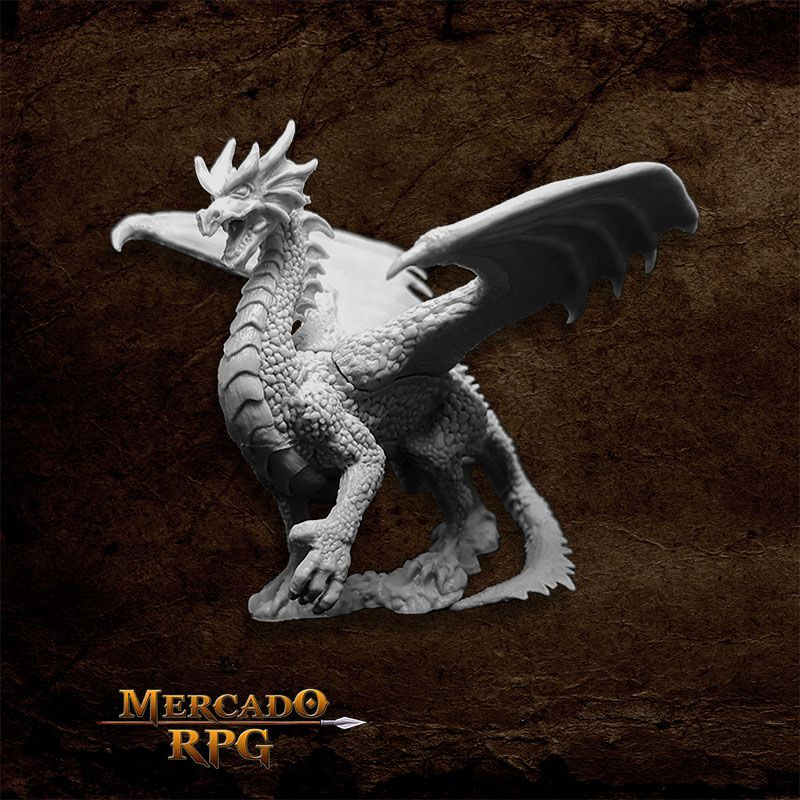 Fire Dragon - Miniatura RPG