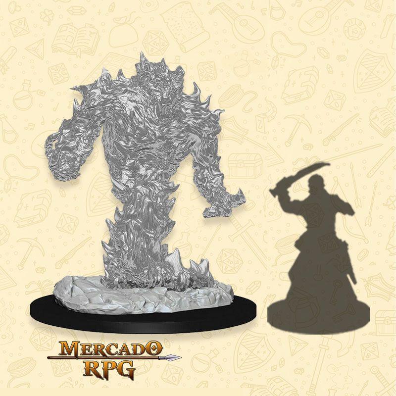 Fire Elemental - Miniatura RPG  - Mercado RPG