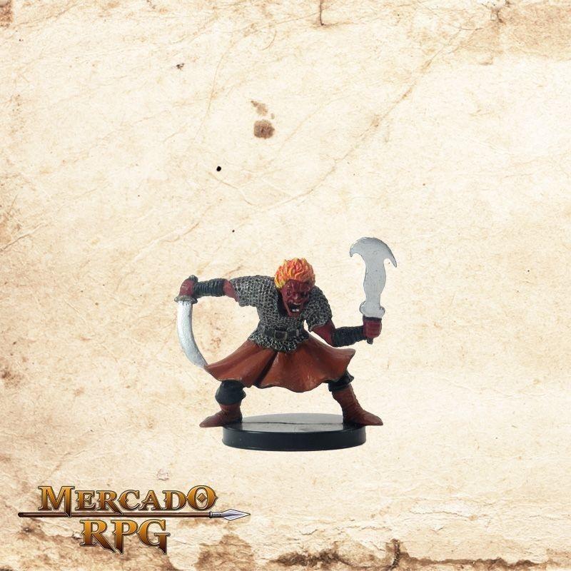 Fire Genasi Dervish - Com carta  - Mercado RPG