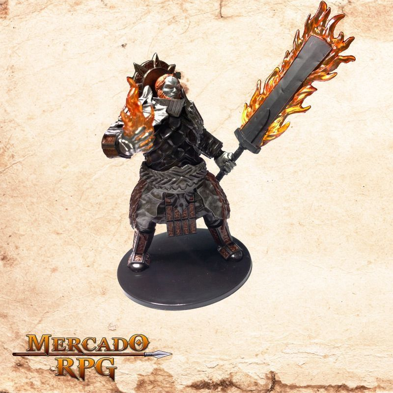 Fire Giant (Flaming Sword)  - Mercado RPG