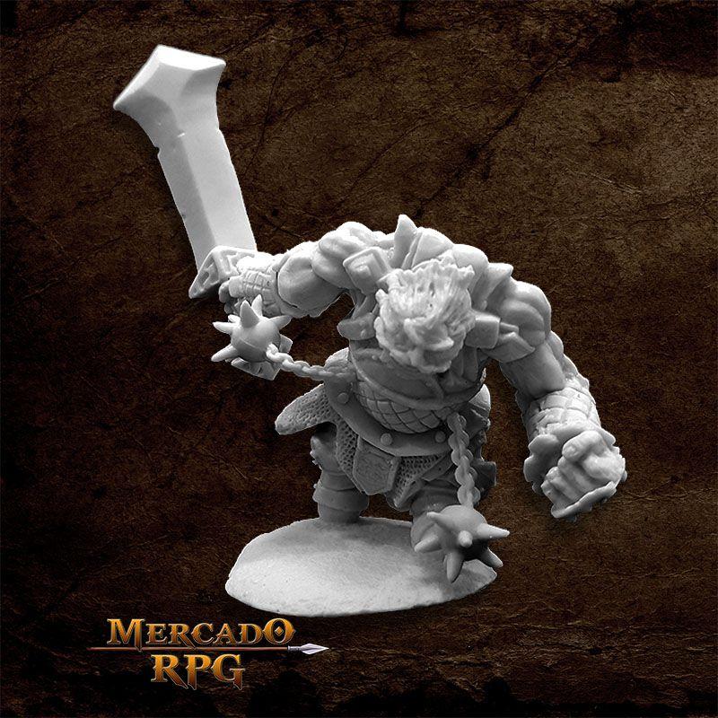 Fire Giant Warrior - Miniatura RPG