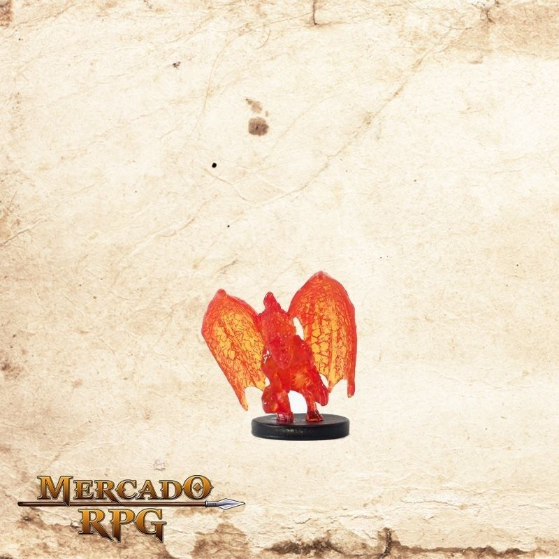 Fire Mephit - Com carta  - Mercado RPG
