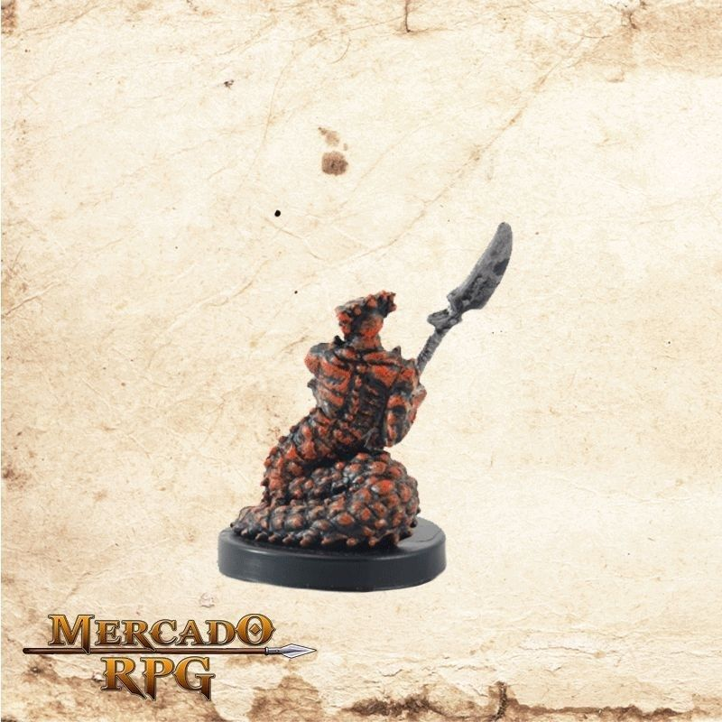 Flamebrother Salamander - Sem carta  - Mercado RPG