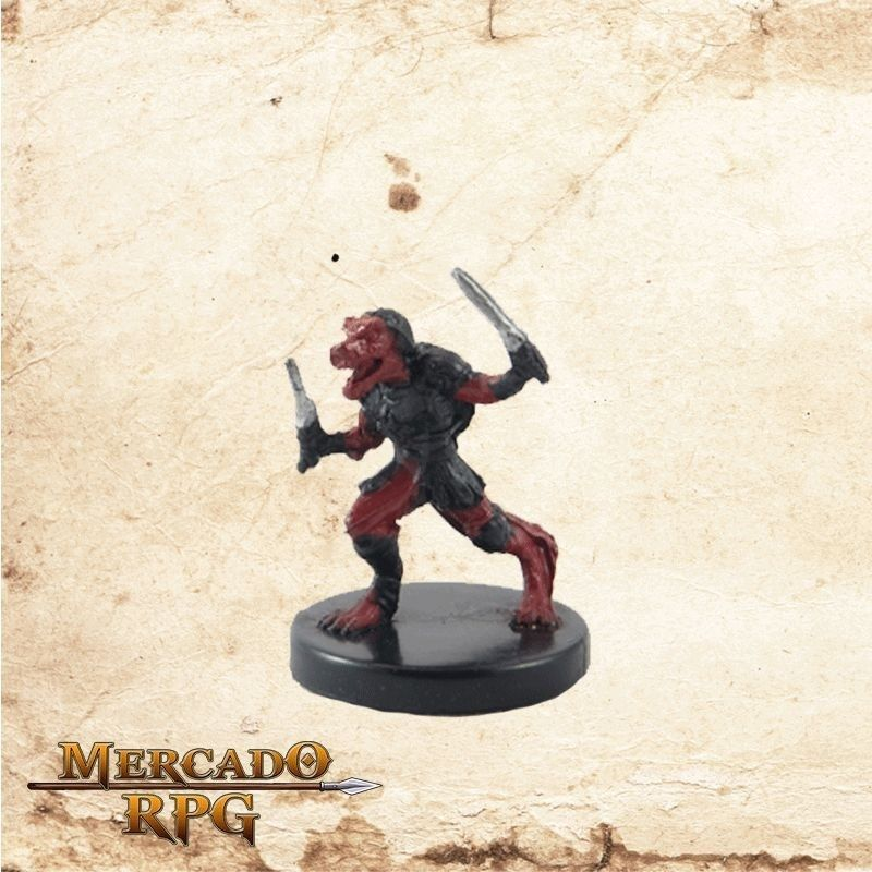 Flamescorched Kobold - Com carta  - Mercado RPG