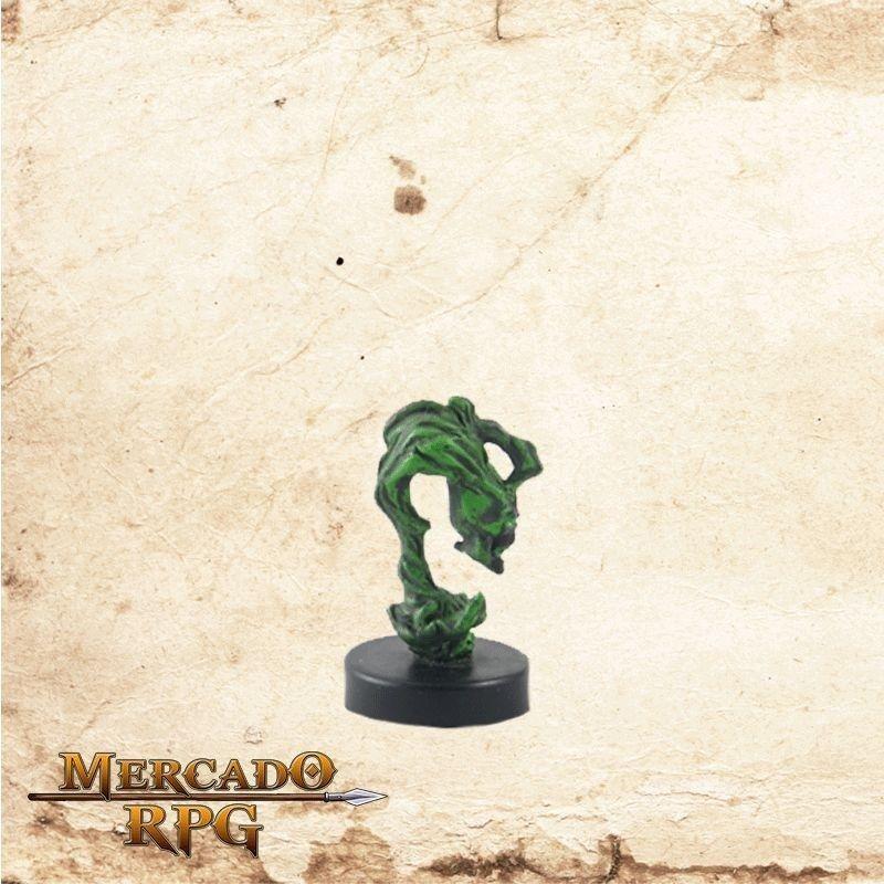 Flameskull - Com carta  - Mercado RPG