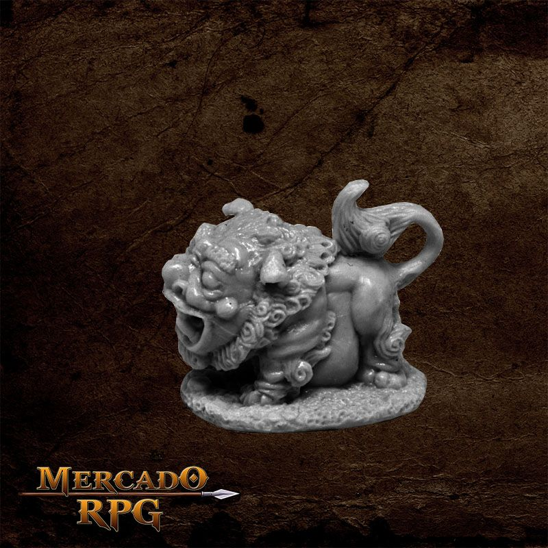 Foo Dog - Miniatura RPG  - Mercado RPG