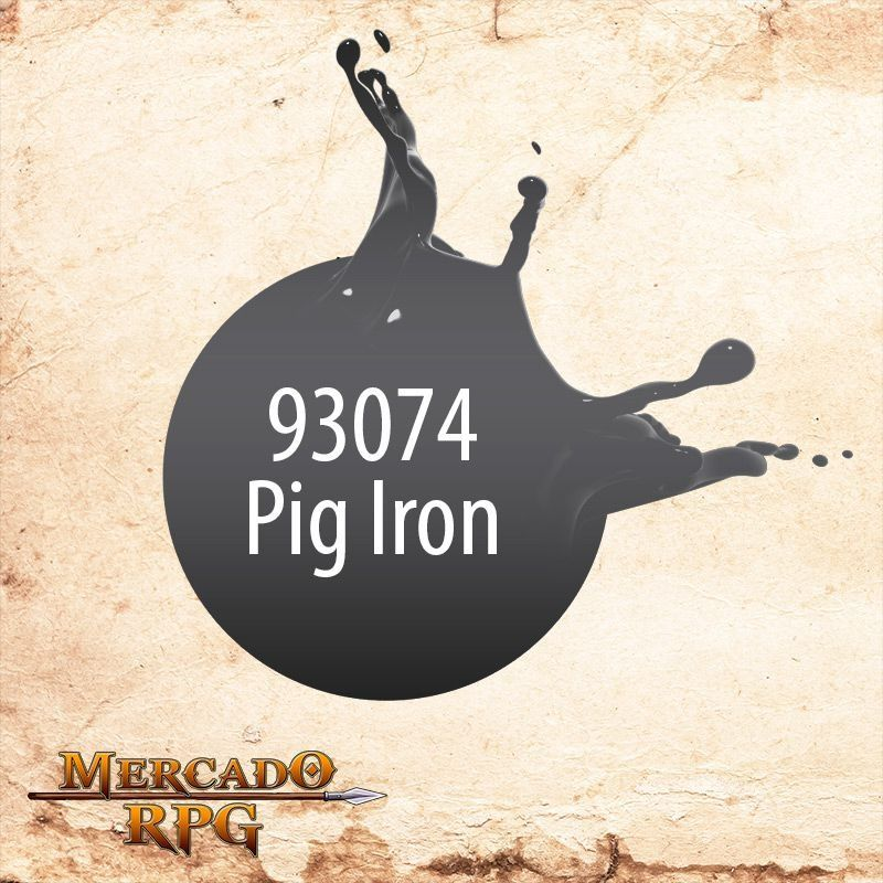 Formula P3 Pig Iron 93074  - Mercado RPG
