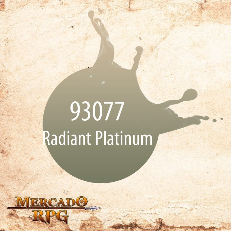 Formula P3 Radiant Platinum 93077  - Mercado RPG