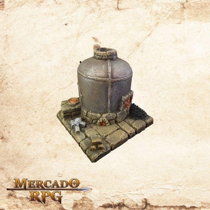 Forno de fundição  - Mercado RPG