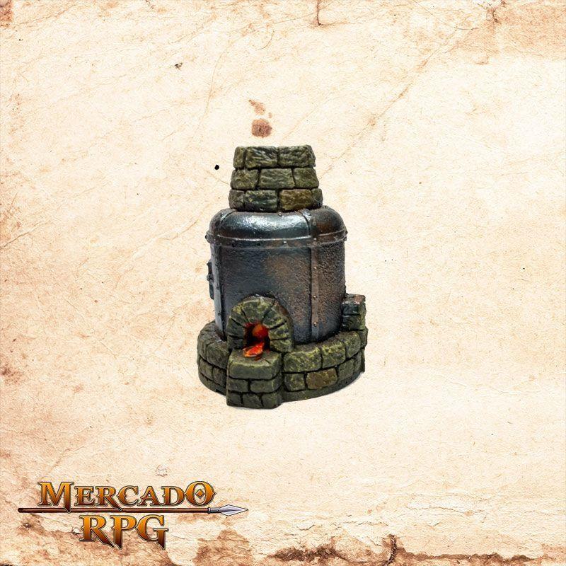 Forno de fundição Avançado  - Mercado RPG