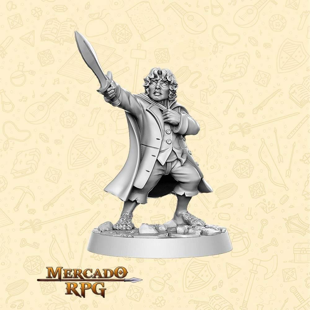 Frodo - LOTR - Miniatura - RPG