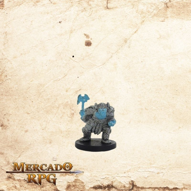Frost Dwarf - Com carta  - Mercado RPG
