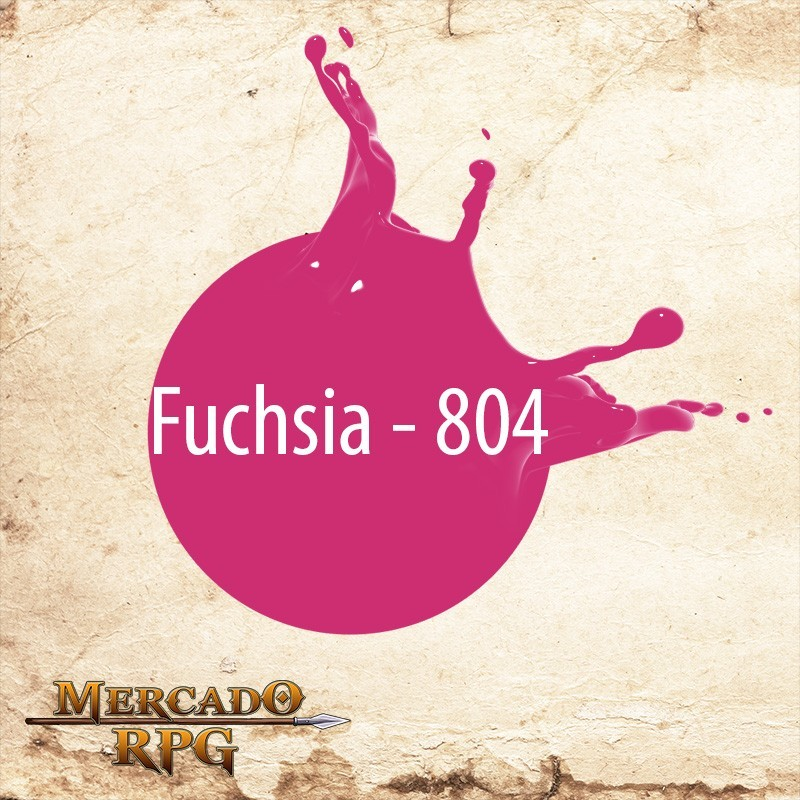 Fuchsia 804 - Tinta Acrílica Fosca Nature Colors 60ml - Acrilex - RPG