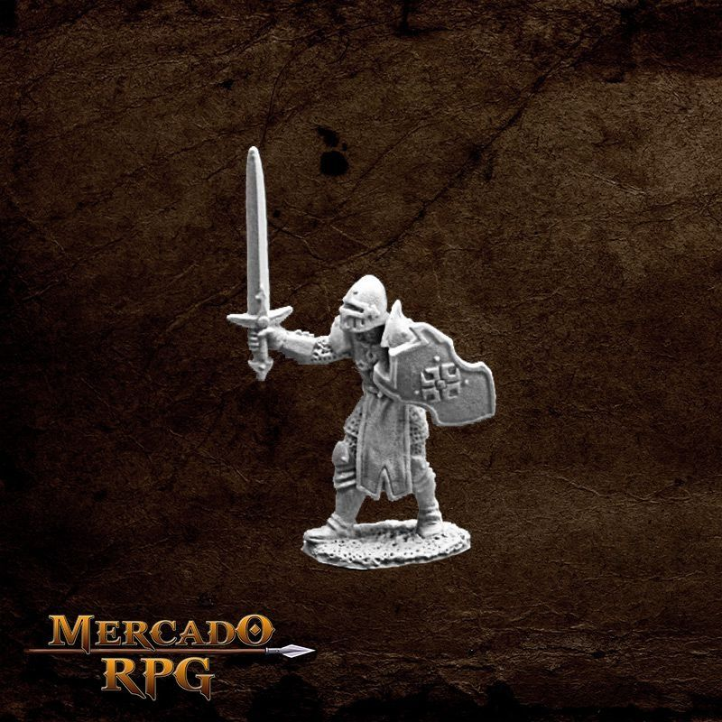 Garrick the Bold - Miniatura RPG  - Mercado RPG