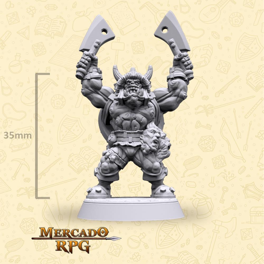 Gashur Orc Soldier - Miniatura - RPG