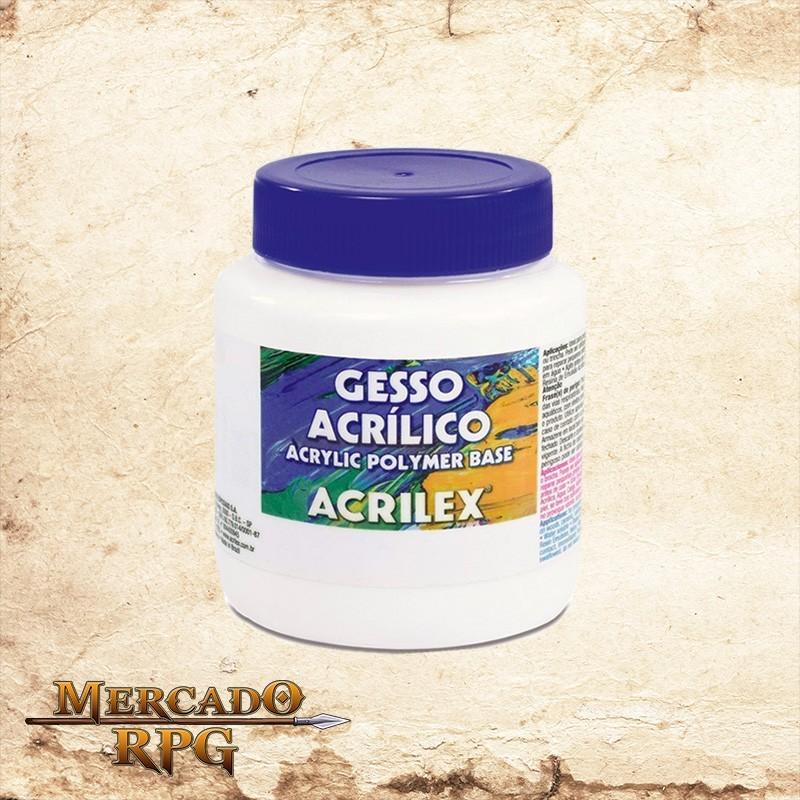 Gesso Acrílico 250ml - Acrilex - RPG