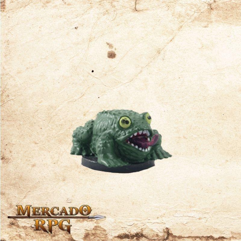 Giant Frog - Com carta  - Mercado RPG
