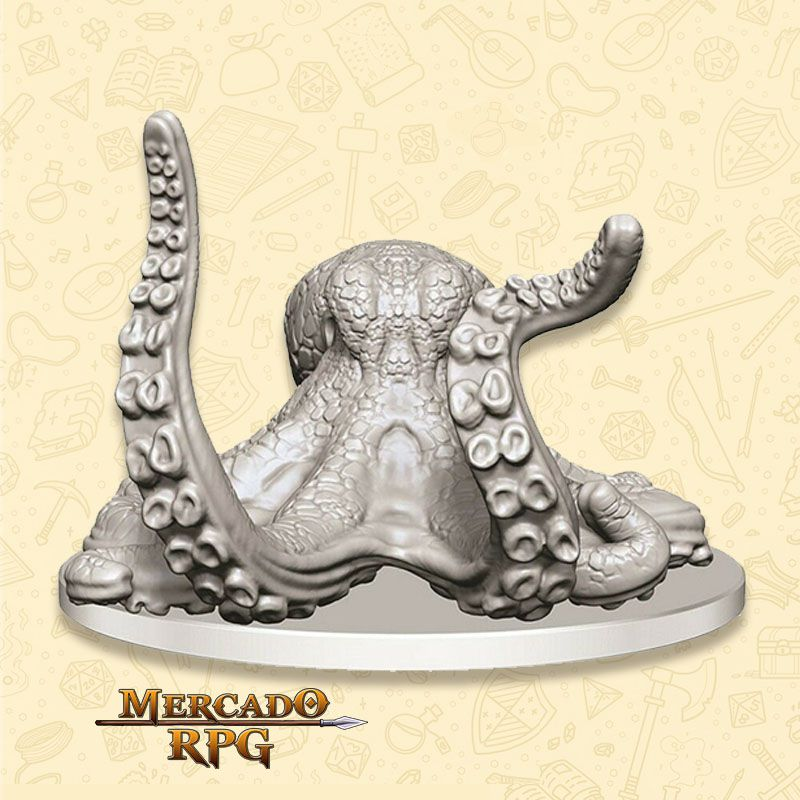 Giant Octopus - Miniatura RPG  - Mercado RPG