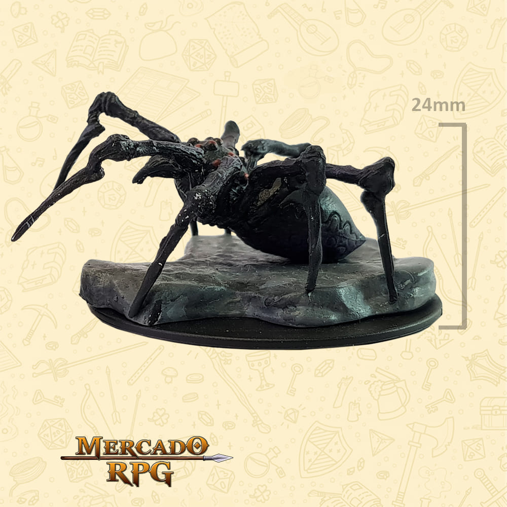 Giant Spider - Miniatura D&D - RPG