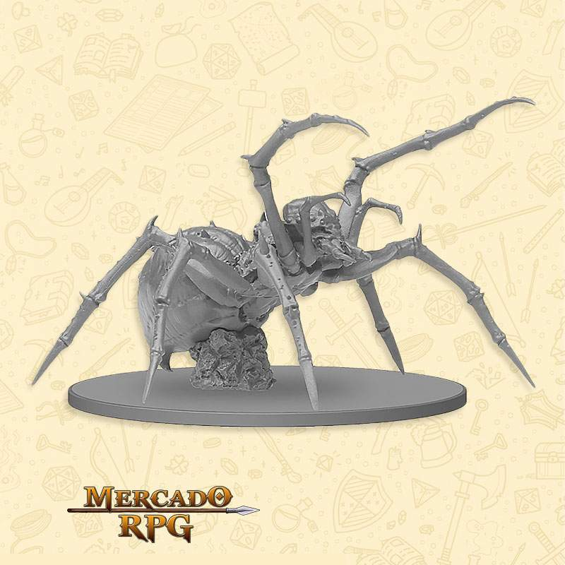 Giant Spider - Miniatura RPG  - Mercado RPG