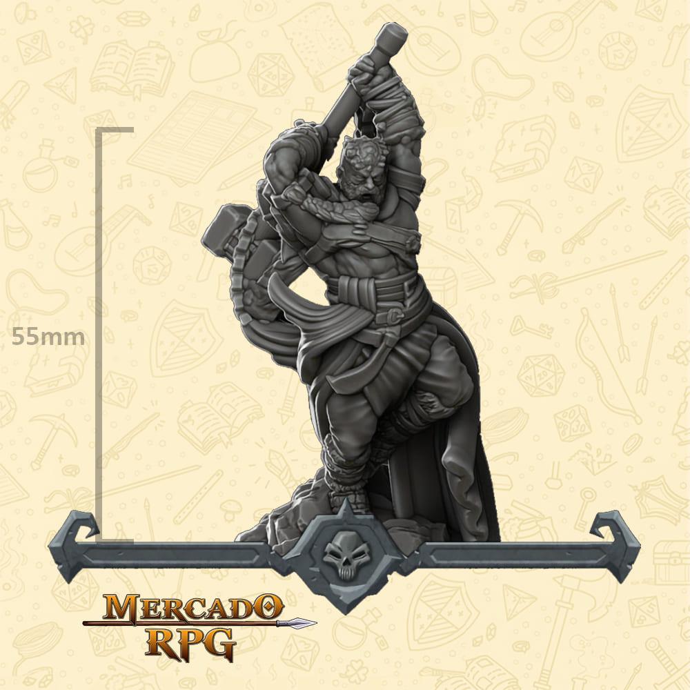 GiantKin Barbarian - Miniatura - RPG