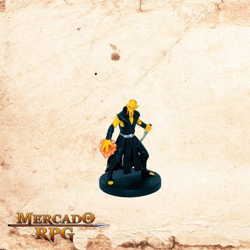 Githzerai Monk (Knife & Flame)  - Mercado RPG