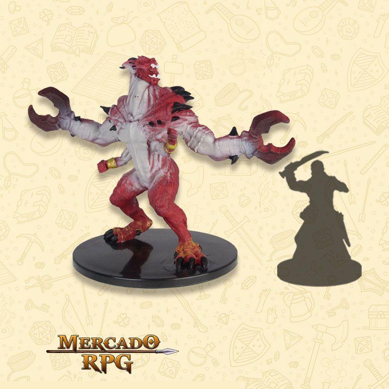 Glabrezu - Miniatura RPG  - Mercado RPG