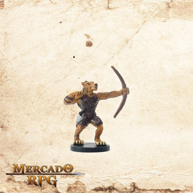 Gnoll Huntmaster - Com carta  - Mercado RPG