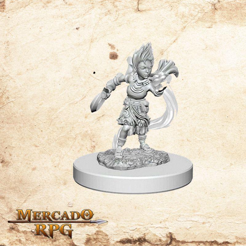 Gnome Female Druid A - Miniatura RPG  - Mercado RPG