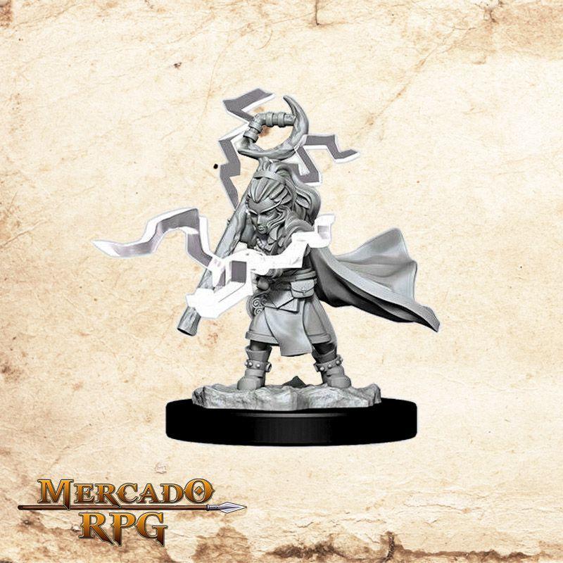Gnome Female Sorcerer A - Miniatura RPG
