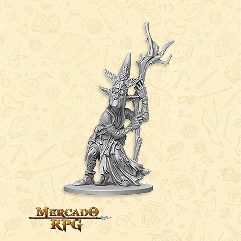 Goblin Archer Boss - Miniatura RPG  - Mercado RPG