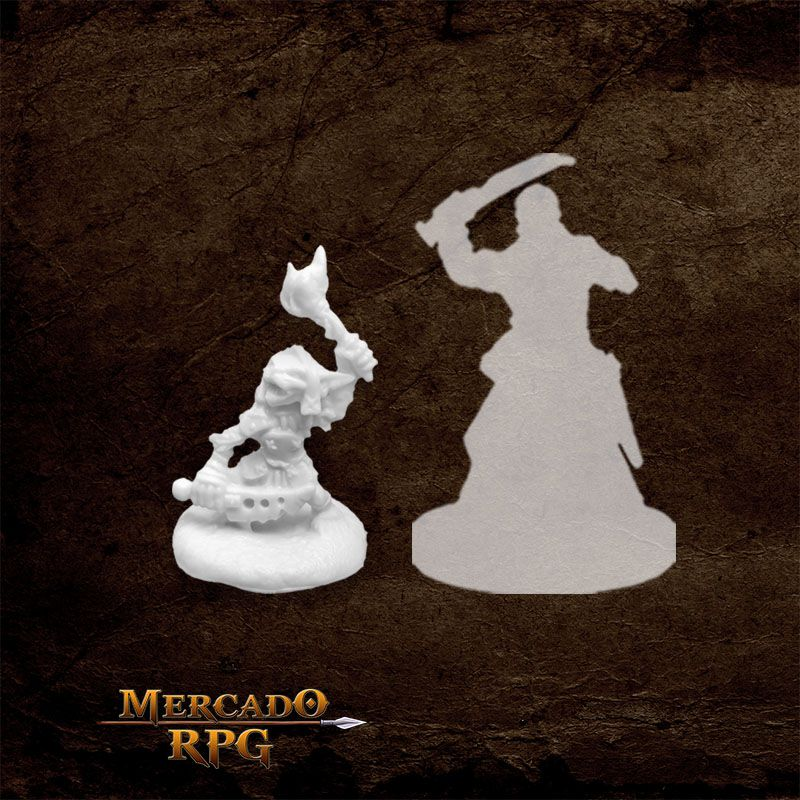 Goblin D - Miniatura RPG  - Mercado RPG
