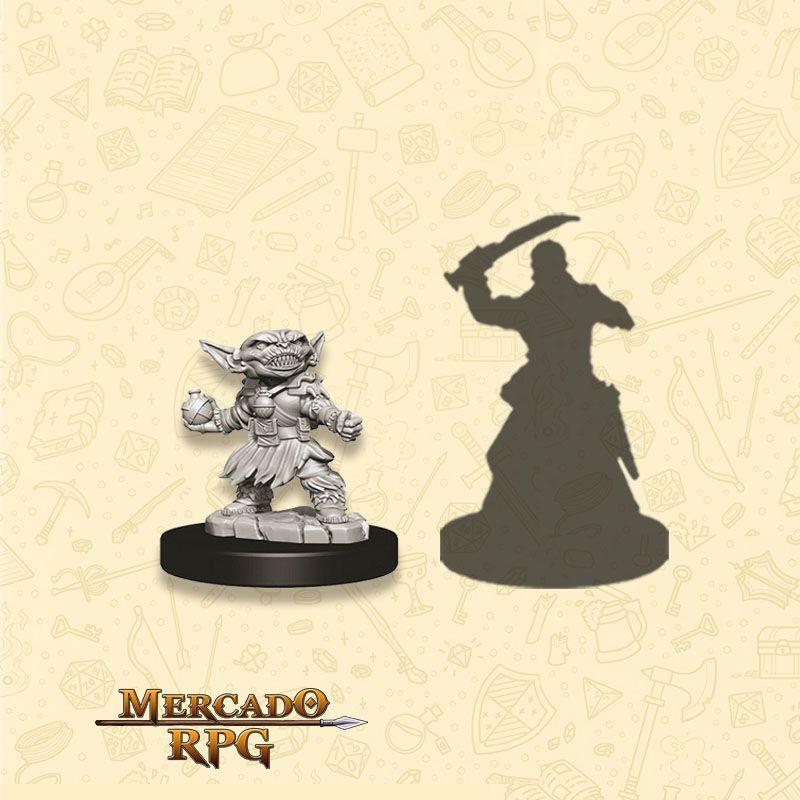Goblin Female Alchemist A - Miniatura RPG  - Mercado RPG