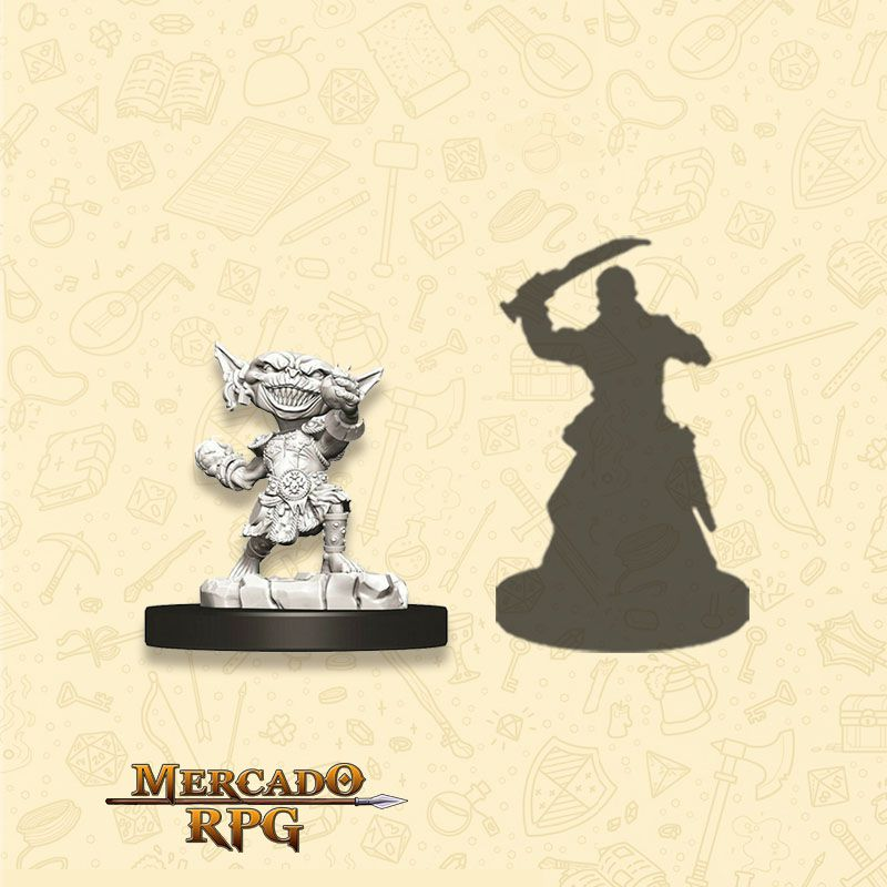 Goblin Female Alchemist B - Miniatura RPG  - Mercado RPG