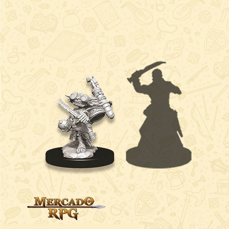 Goblin Male Alchemist A - Miniatura RPG  - Mercado RPG