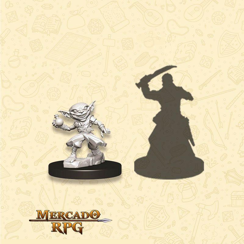 Goblin Male Alchemist B - Miniatura RPG  - Mercado RPG
