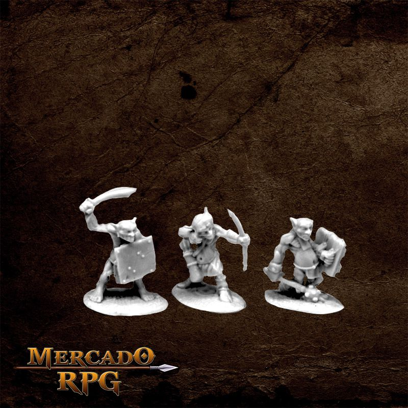 Goblin Skirmishers (3)  - Mercado RPG