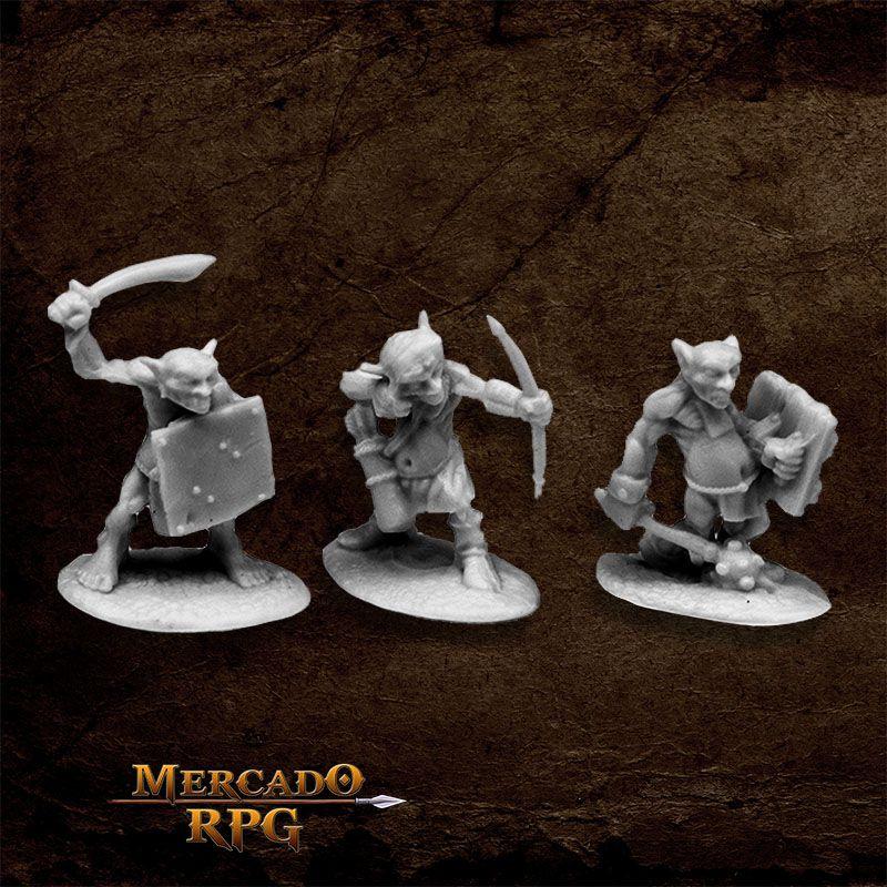 Goblin Skirmishers (3) - Miniatura RPG