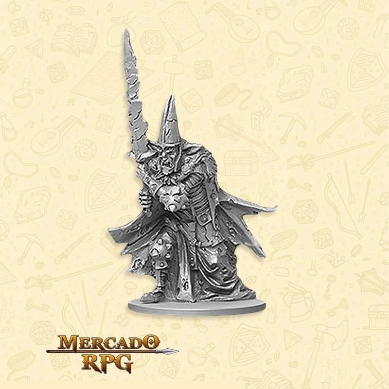 Goblin Warrior Boss - Massive Darkness - Miniatura RPG