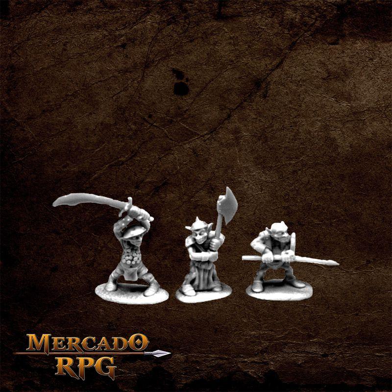 Goblin Warriors (3)  - Mercado RPG