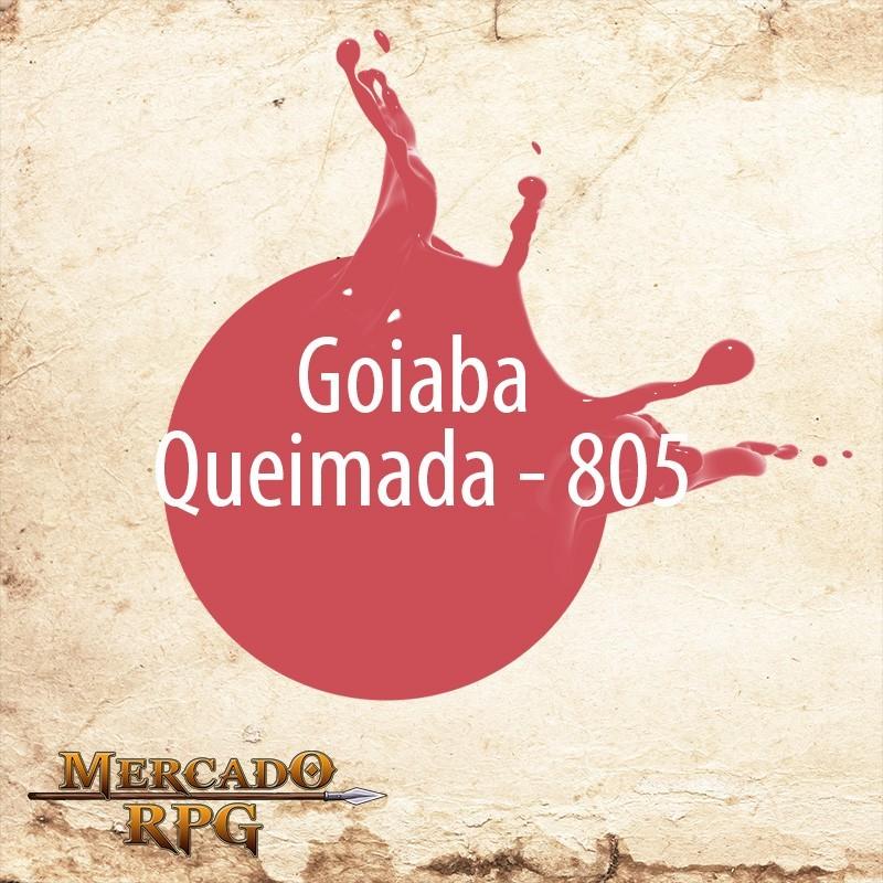 Goiaba Queimada 805 - Tinta Acrílica Fosca Nature Colors 60ml - Acrilex - RPG