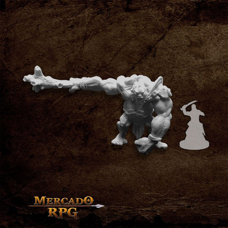 Golan, Hill Giant - Miniatura RPG  - Mercado RPG